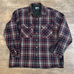 Vintage 70s Fieldmaster flannel jacket